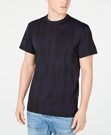 G-Star RAW Men's Block Pattern T-Shirt, Created for Macy's