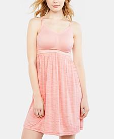 Motherhood Maternity Babydoll Clip-Down Nursing Nightgown