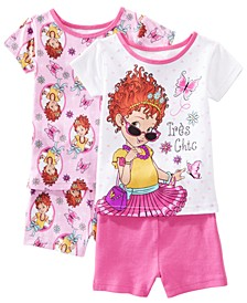 Toddler Girls 2-Pack Fancy Nancy Graphic Cotton Pajamas