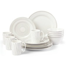 kate spade new york Charlotte Street West Grey 16-PC Dinnerware Set