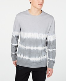American Rag Men's Tie Dye Long-Sleeve T-Shirt, Created for Macy's