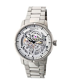 Heritor Automatic Ryder Stainless Steel Watch 44mm