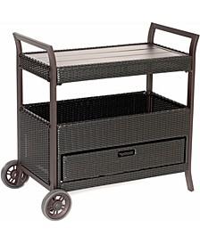 """Outdoor Bar Cart - 34.83"""" x 21.92"""" x 30.86"""""""