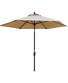 "Traditions 11' Table Umbrella - 104"" x 132"" x 12.35"""