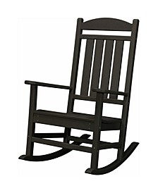 "All-Weather Pineapple Cay Porch Rocker - 42.5"" x 26.25"" x 37"""