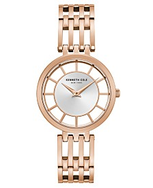 Kenneth Cole New York Ladies' Bracelet with Transparent Dial, 34MM