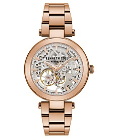 Ladies' Bracelet with Skeleton Automatic Dial, 38MM