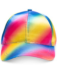 I.N.C. Tie Dye Rainbow Baseball Cap, Created for Macy's