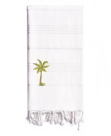 Linum Home Summer Fun Breezy Palm Tree Pestemal Beach Towel