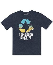 Timberland Big Boys Walpole Logo T-Shirt