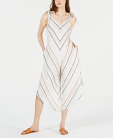Royalty Clothing Brand Tie-Strap Jumpsuit