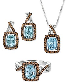 Le Vian® Sea Blue Aquamarine & Diamond Jewelry Collection in 14k White Gold