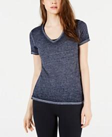 Superdry V-Neck Burnout T-Shirt