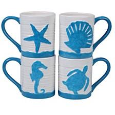 Natural Mugs, Set of 4