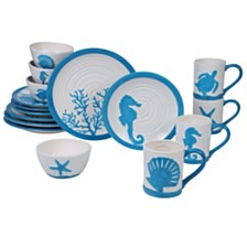 Certified International Natural 16pc Dinnerware Set
