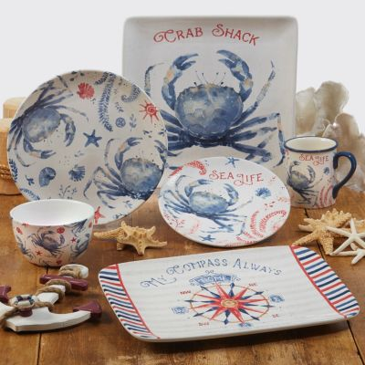 Nautical 4pc Ice Cream Bowl