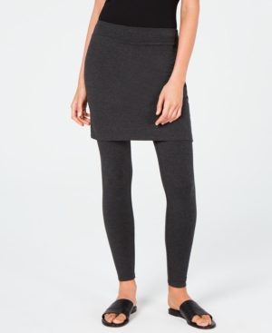 Eileen Fisher Skirts TENCEL SKIRTED LEGGINGS, CREATED FOR MACY'S