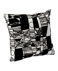 "Siscovers Scratch 26"" Designer Euro Throw Pillow"
