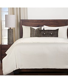 Siscovers Harbour Shell White 5 Piece Twin Duvet Set