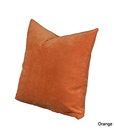 "Padma Orange 16"" Designer Throw Pillow"