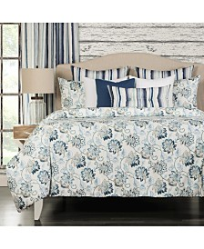 Nantucket 6 Piece Full Size Luxury Duvet Set