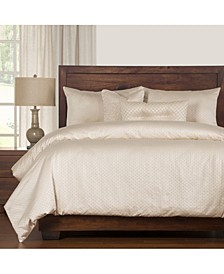 Celeste 6 Piece Cal King High End Duvet Set