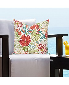 "Palm Island Indoor-Outdoor 16"" Designer Throw Pillow"
