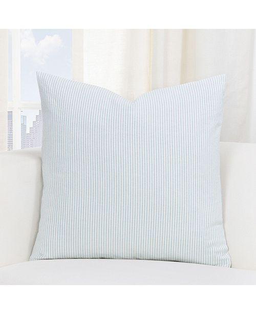"Siscovers Heritage Mist Farmhouse 20"" Designer Throw Pillow"