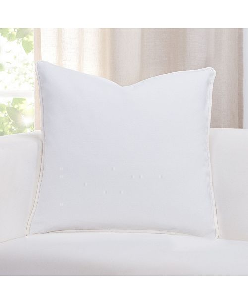 "Revolution Plus Everlast White 16"" Designer Throw Pillow"