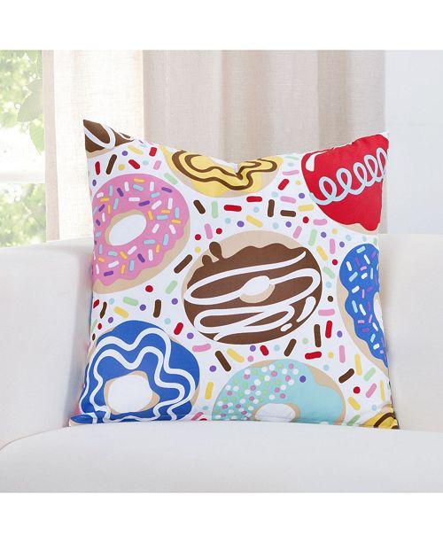 "Crayola Sweet Dreams 20"" Designer Throw Pillow"