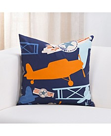 """Take Flight 16"""" Designer Throw Pillow"""