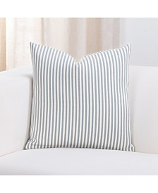 "Revolution Plus Everlast Stripe Juniper 16"" Designer Throw Pillow"