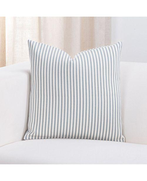 """Revolution Plus Everlast Stripe Juniper 16"""" Designer Throw Pillow"""