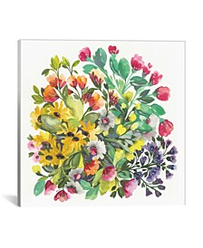 """""""Wildflowers"""" By Kim Parker Gallery-Wrapped Canvas Print - 18"""" x 18"""" x 0.75"""""""