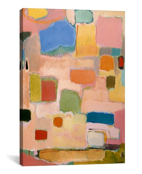 """iCanvas """"Color Essay With Pink"""" By Kim Parker Gallery-Wrapped Canvas Print - 26"""" x 18"""" x 0.75"""""""