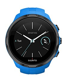 Spartan Sport Blue Wrist HR, Blue Silicone Band with a Digital Dial