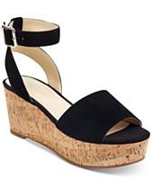 9adc2acbde9 Marc Fisher Rillia Cork Flatform Sandals