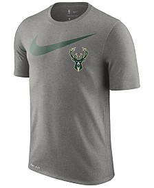 Nike Men's Milwaukee Bucks Essential Swoosh Legend T-Shirt