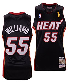Mitchell & Ness Men's Jason Williams Miami Heat Authentic Jersey