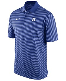 Nike Men's Duke Blue Devils Stadium Stripe Polo