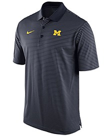 Men's Michigan Wolverines Stadium Stripe Polo