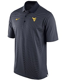Nike Men's West Virginia Mountaineers Stadium Stripe Polo
