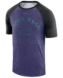 Nike Men's Tampa Bay Rays Dry Slub Short Sleeve Raglan T-Shirt