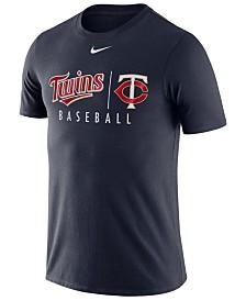 Nike Men's Minnesota Twins Dri-FIT Practice T-Shirt