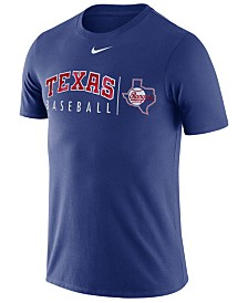 Nike Men's Texas Rangers Dri-FIT Practice T-Shirt