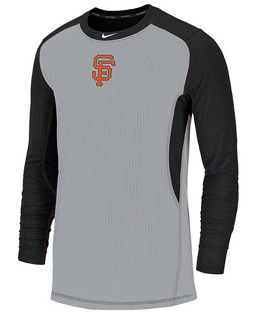 dcd893947 ... Nike Men s San Francisco Giants Authentic Collection Game Top Pullover  ...