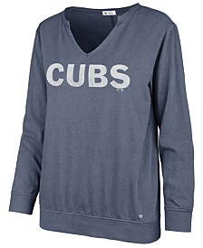 '47 Brand Women's Chicago Cubs Gamma Long Sleeve T-Shirt
