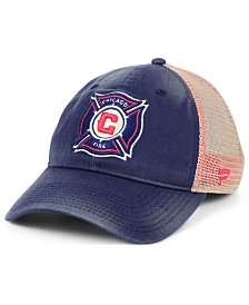 Authentic MLS Headwear Chicago Fire Americana Trucker Snapback Cap