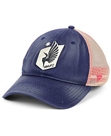 Authentic MLS Headwear Minnesota United FC Americana Trucker Snapback Cap