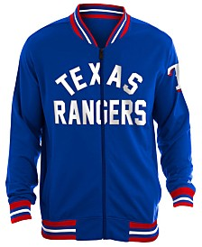 New Era Men's Texas Rangers Lineup Track Jacket